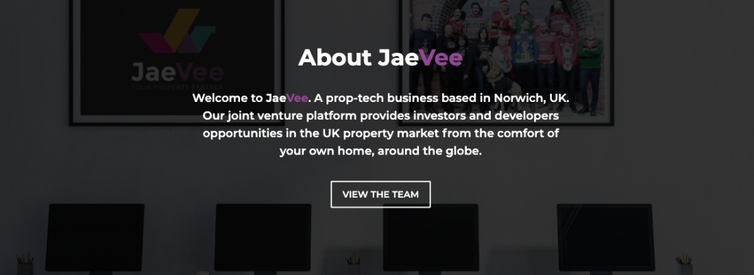 The equity platform for property joint ventures JaeVee - Your Property Partner