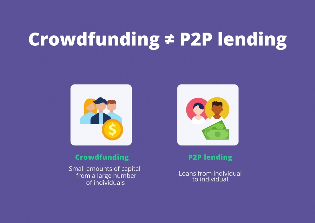 Crowdfunding isn't P2P lending