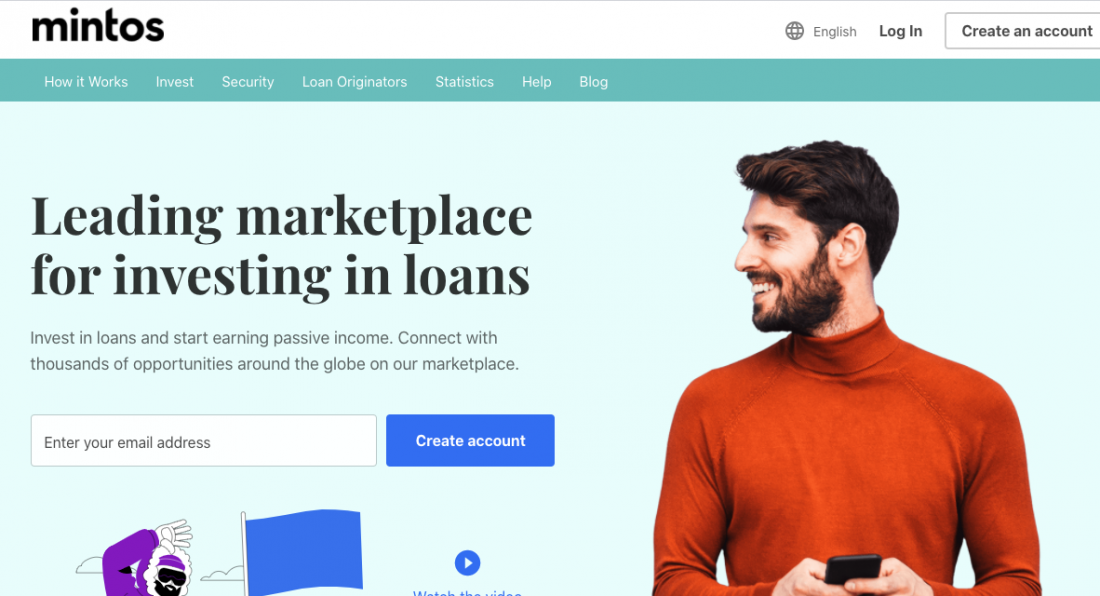 Mintos - leading marketplace for investing in loans