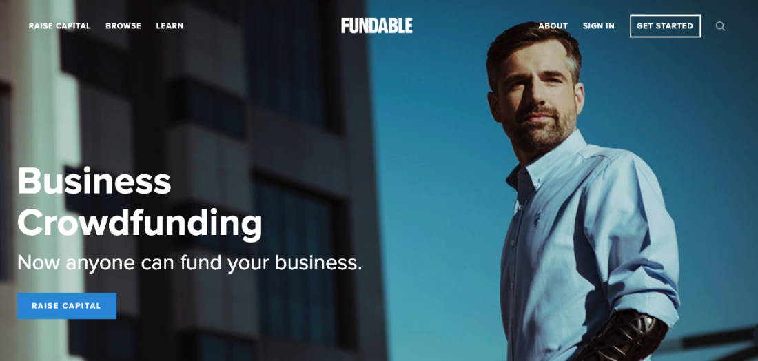 Fundable - Business Crowdfunding Now anyone can fund your business.