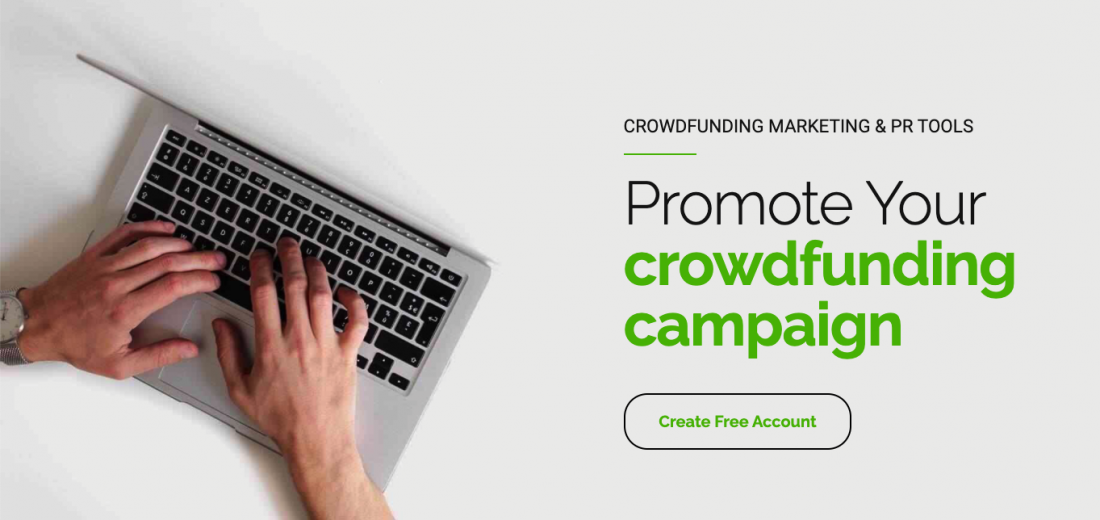 Crowdfunding marketing and PR tool — Krowdster.